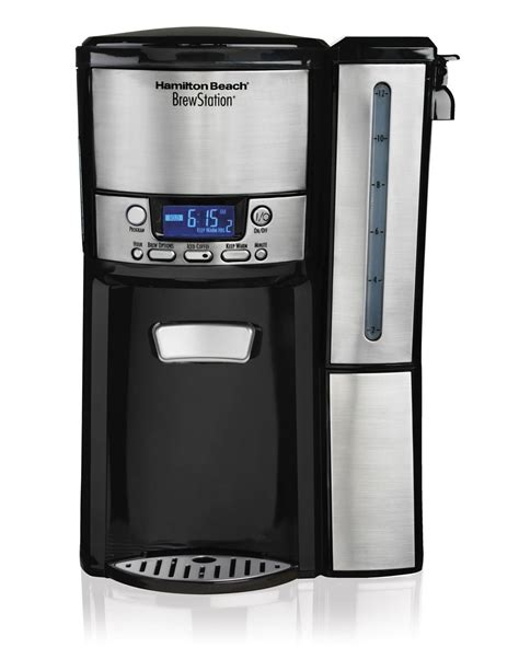 For many of us, it's an essential part of our morning routine. Hamilton Beach 12-Cup Brewstation Coffee Maker 47950 | Walmart Canada