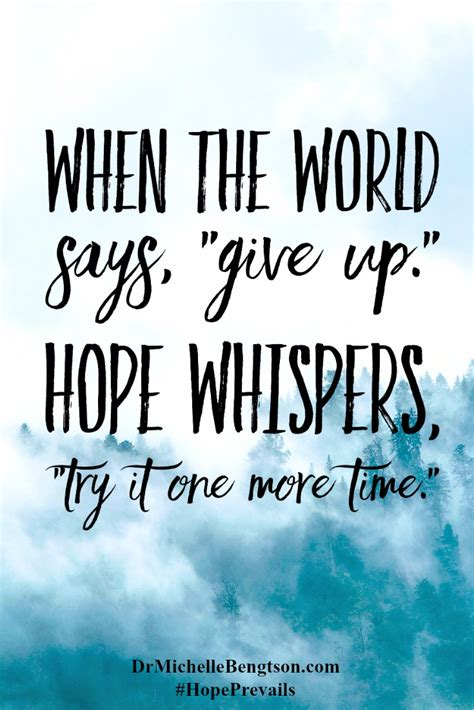 short christian quotes about hope