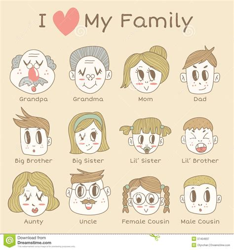 clipart images  family members clipground