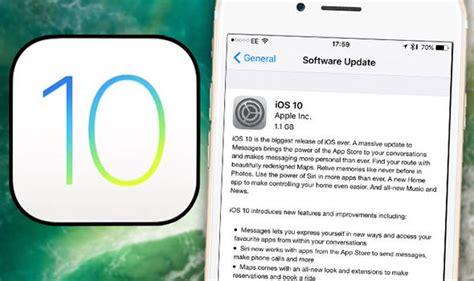 apple iphone update ios 10 apple iphones not working after update restore