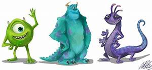 Monsters Inc by NillaKiwi on DeviantArt