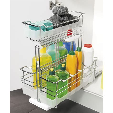 panier coulissant cuisine accesoires cuisine sous évier