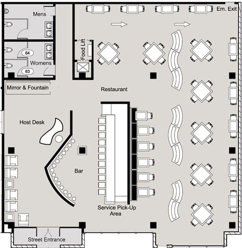 Best 25  Restaurant plan ideas on Pinterest   Restaurant floor plan, Restaurant layout and Cafe