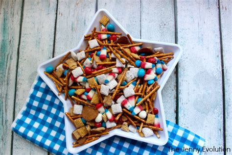fourth of july snacks 4th of july snacks patriotic snack mix