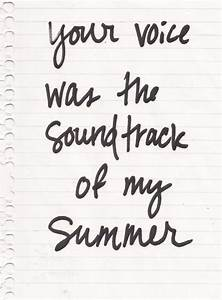 thunder ~ boys like girls | Tumblr quotes/ song quotes ...