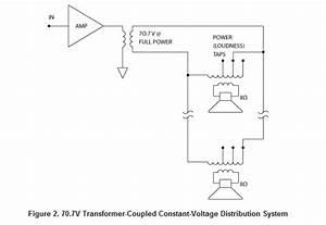 70v Speaker Wiring Diagram