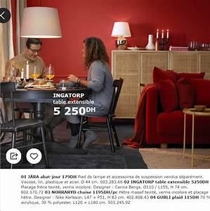 catalogue promotionnel ikea maroc pour la salle a manger With salle a manger kitea casablanca