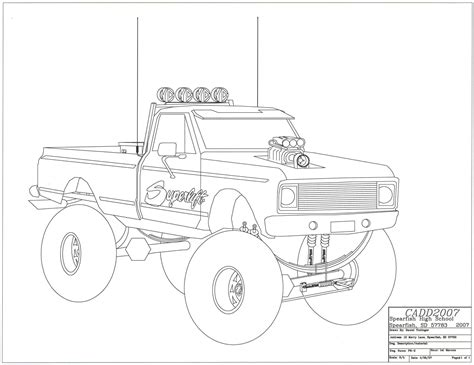 pin  shanna majko  drawing ideas easy drawings truck coloring pages drawings