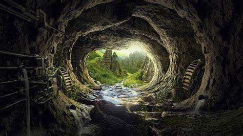 wallpaper tunnel pandora fantasy hd  creative