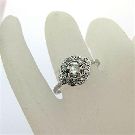 bague deco ancienne expertise bijoux bague deco diamants or platine 702 bijoux anciens or