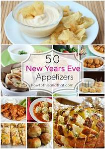 50 Must Serve New Year's Eve Appetizers & Party Food