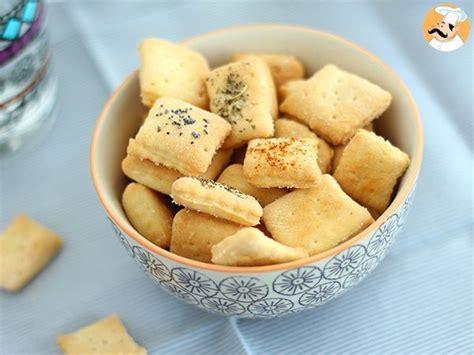 biscuits aperitif faits maison recette ptitchef