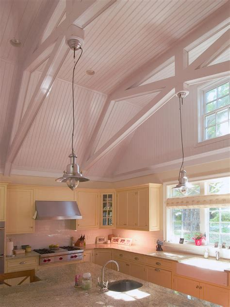 cathedral ceiling kitchen lighting ideas vaulted ceiling lighting dining room mediterranean with