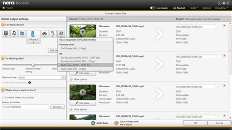 'nero recode' is an easy to use application, which supports transcoding various media source file formats to a variety of target video formats, so that you can playback your. Nero Recode Review / Dvd Recoding / This video is part of ...