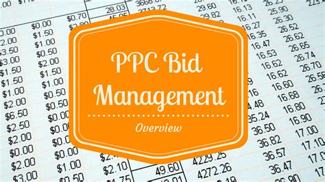 Pay Per Click Bid Management The Essential In Depth Overview Of Ppc Bid Management
