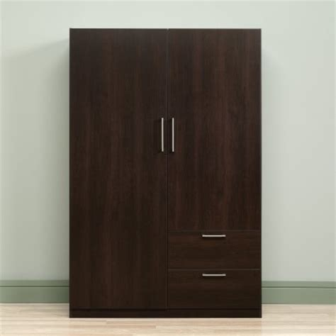Sauder Beginnings Storage Cabinetwardrobe by Sauder Beginnings Wardrobe Storage Cabinet Cinnamon