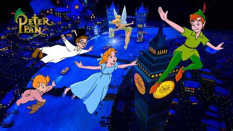 flight  london peter pan cartoon  magic kingdom