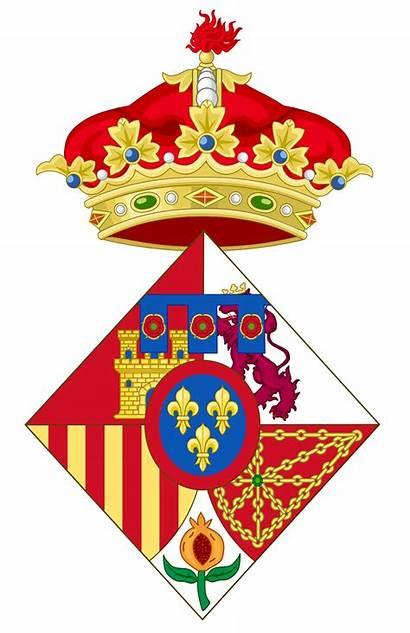 Infanta Spain Coat Wikimedia Svg Sofia Arms