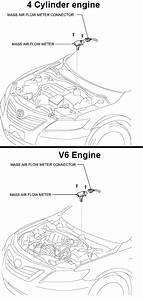 P0103 2007 Toyota Camry Mass Or Volume Air Flow Circuit High Input