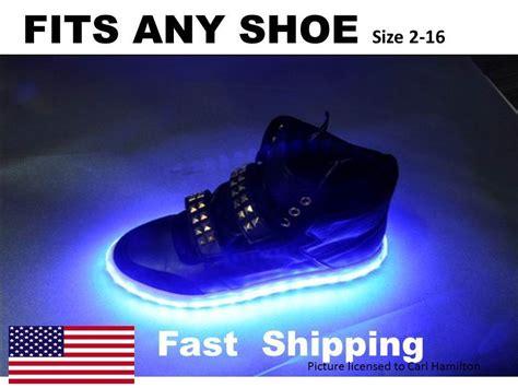 nike jordan light up light up your shoes any size 7 8 9 10 11 12 13 14 15