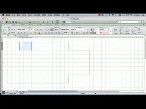 create your own floor plans free how to a floorplan in excel microsoft excel tips