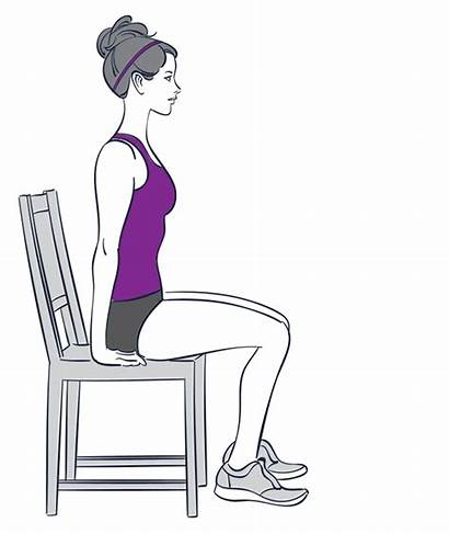 Exercises Chair Sitting Exercise Down While Yoga