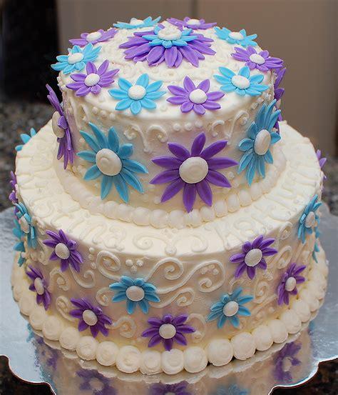 >a Cool Blue Birthday Cake Sugarsongcakes