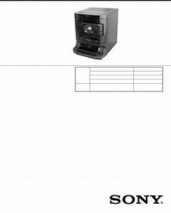 Sony Stereo System Hcd