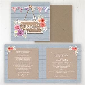 Cornflower meadow wedding invitations sarah wants stationery for Wedding invitation folded envelopes