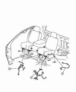 Ram Laramie Wiring  Seat  Tag   880032aa  Tag   L0045890aa