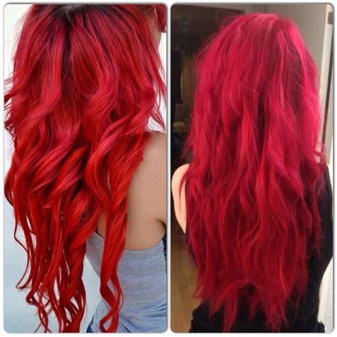 vibrant red hair color hair colors idea