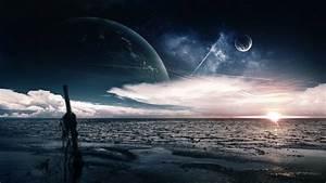 Alien Planet Wallpaper ·①