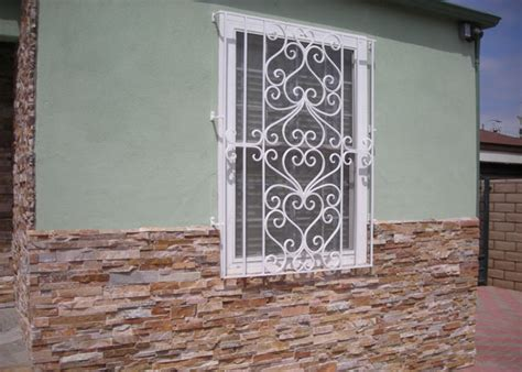 decorative security bars for residential windows wrought iron security window bars san diego ca