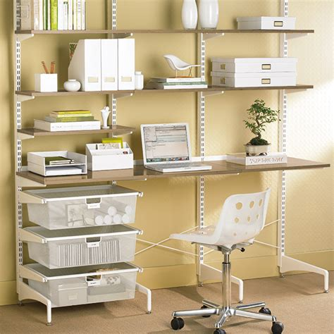 coffee white elfa freestanding study the container store