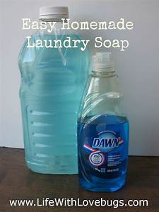 DIY No Grate Liquid Laundry Detergent - Life With Lovebugs