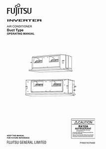 Fujitsu Split System Air Conditioner Installation Manual