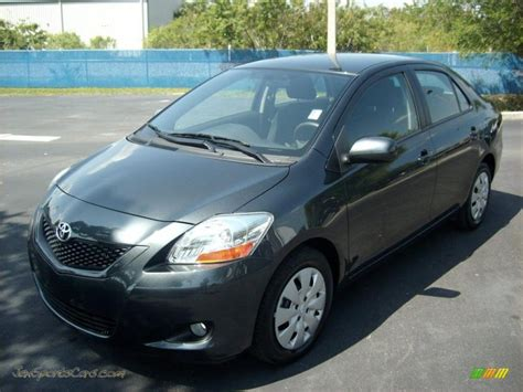 2009 Toyota Yaris Sedan In Flint Mica 351120 Jax