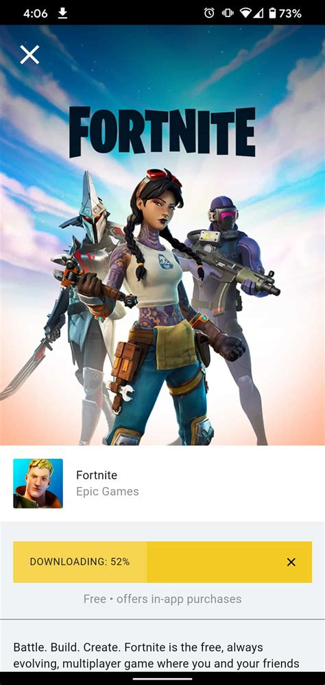 fortnite android play without google still game androidheadlines