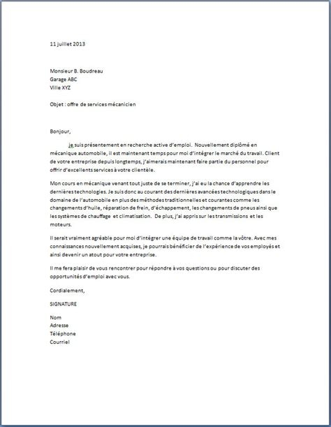 exemple de lettre de motivation femme de chambre application letter sle modele de lettre de motivation