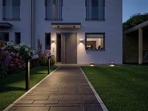 paulmann 79681 house wandleuchte cone ip44 4000k 2x6w With französischer balkon mit garten bodenleuchten