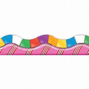 Candy Land Dimensional Look Extra Wide Bulletin Board Trim ...