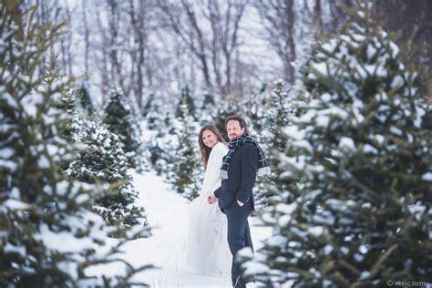 winter snow wedding   boone north carolina