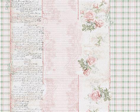 tapete küche landhaus tapete landhaus streifen blumen rosa gr 252 n djooz 95666 1