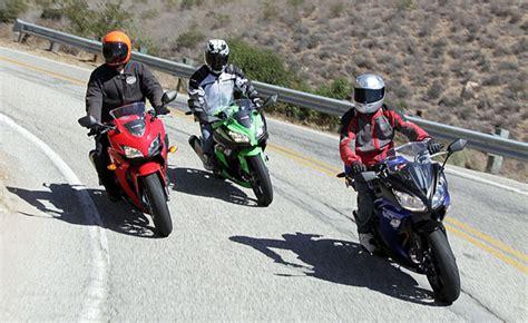 2013 Beginner Sportbike Shootout Part 2