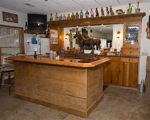 Rustic Bar - Traditional - Basement - st louis - by
