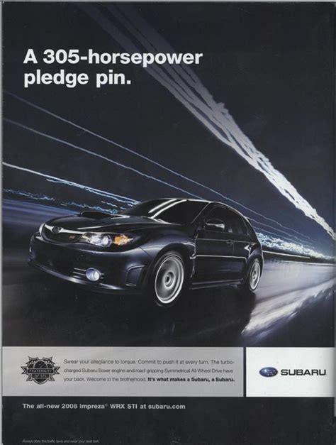 Subaru Car Ads by Subaru Advertising Photographs Page 1