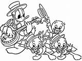 Donald Coloring Pato Colorir Duck Sobrinhos Printable Desenhos Playing Pintar Disney Sobrinos Dibujos Children Desenho Banjo Colorear Imprimir Seus Luizinho sketch template