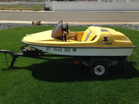 Mini Boat Water Ski by Hup Jet Lark Mini Jet Boat Onatrailer