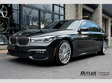 BMW 7 Series with 20in Savini SV61d Wheels exclusively