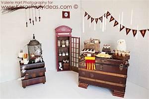 Harry Potter Decoration : kara 39 s party ideas harry potter party planning ideas cake ~ Dode.kayakingforconservation.com Idées de Décoration